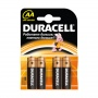 Батарейка DURACELL AA (4 шт)