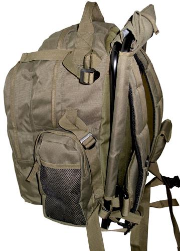 Наружный карман на лямке для... встроенный стульчик с мягким сиденьем.